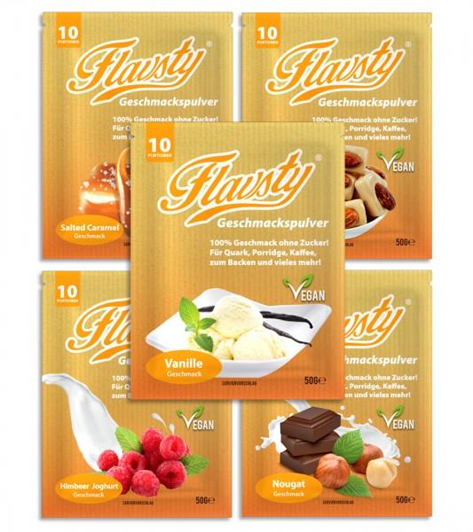 Flavsty Geschmackspulver Mix Set (5x 50g)