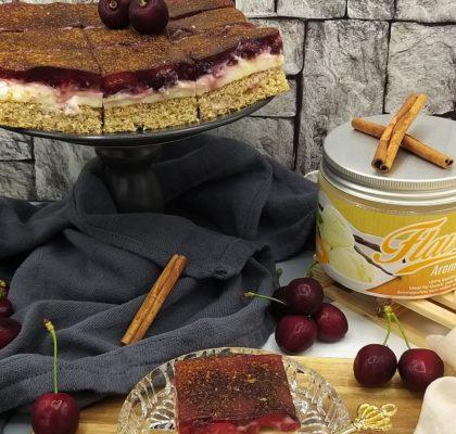 Flavsty Rezept Kirsch-Pudding-Kuchen